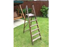WOODEN STEPLADDERS FOR SALE.