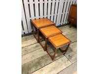 G plan Astro nest of tables vintage retro teak