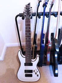 Schecter Hellraiser C-8 (White) 8 String Guitar for sale - *GREAT CONDITION*