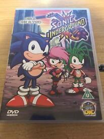 Sonic Underground on 2 Discs on DVD