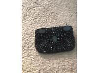 Beautiful black sequin purse