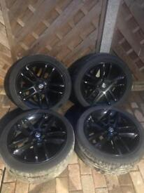 Set of 4 x 17 inch Vauxhall Corsa alloys limited edition