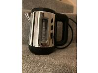 Travel size stainless steel kettle