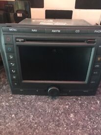 Denso touch screen stereo