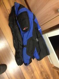 Size large motorcycle jacket