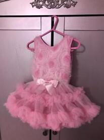 Girls Dress: Photo shoot cake smash? Pink tutu dress 1-1.5 12-18
