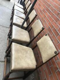 Six dinning room chairs