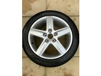 AUDI ALLOY WHEEL NEVER USED WITH TYRE !!!