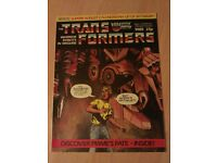 Transformers G1 Comic no 23 from the 80s