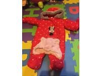 Baby girl snow suit. 6pounds 3-6months