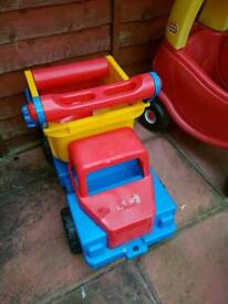 Extra large toy truck