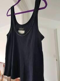 Superdry navy vest top size M