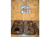 Gas Hob & Extractor
