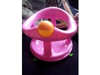 Girls bath seat