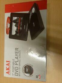 akia portable dvd player