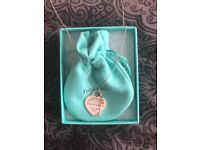 Beautiful Return to Tiffany and Co Necklace with Gold Key Pendant