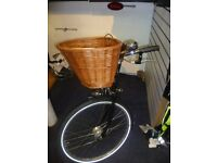 "Pashley princess sovereign black 17"" ladies bicycle new basket 5 speed cheap trad vintagesmall"