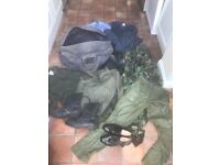 Large bag of military clothes for sale