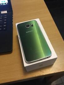 Samsung Galaxy s6 edge green. 32gb