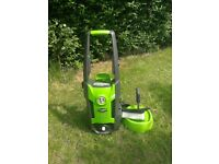 Greenworks pressure washer (minus hose and lance)