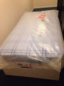 Single Bed Base & Brand New Mattress £70