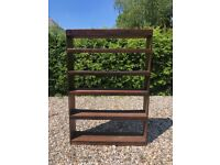 Large solid timber bookcase