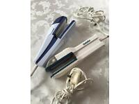 2 Pair Of Hair Straighteners - (Price Is For Both But I Will Sell Separately)