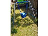 Childrens Swing garden swing 2 in 1