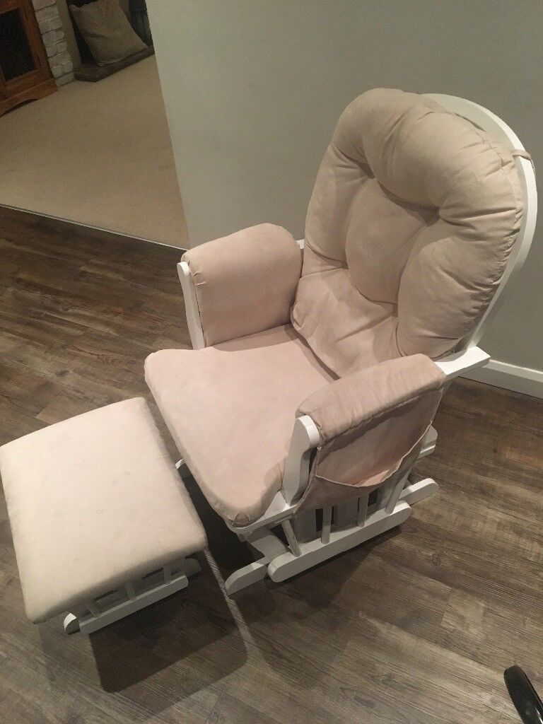 Off white nursing chair -John Lewis