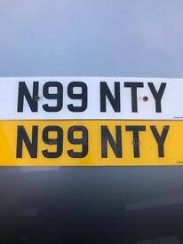 Private registration N99 NTY