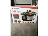 Brand new Goodmans 8 in 1 Multi Cooker