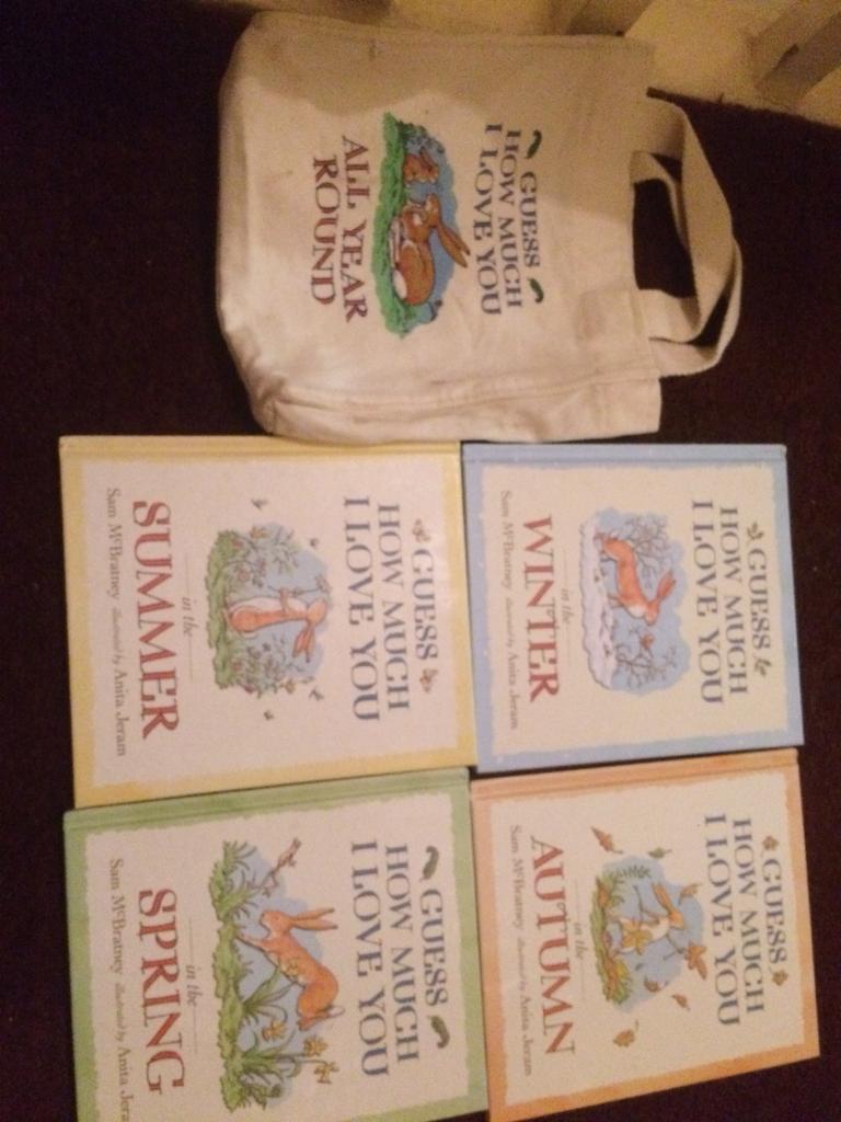 Children's book set in a bag