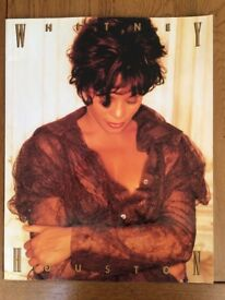 Original Iconic Whitney Huston Tour Programme from 1993