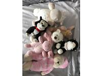 Selection of soft toys