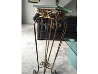 French Glass side table