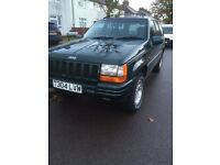 Grand Cherokee Jeep v6 engine starts and runs spot on quick sale £500 ono