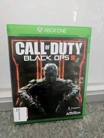 """XBOX ONE GAME """"CALL OF DUTY BLACK OPS III"""""""