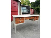Stag Minstrel dressing table hand painted wax finish Shabby Chic