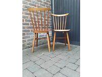 Retro Mid Century Vintage 60s chairs Danish Ercol Style