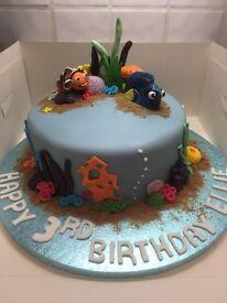 Finding Nemo - Finding Dory Childrens Birthday Cakes - Disney - Adult - Novelty - Wedding