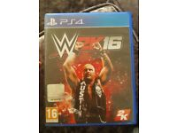 W2k16 ps4 game