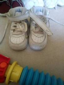 Boys shoes and nike shoes