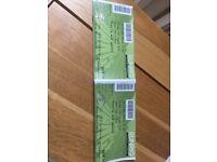 RUNRIG concert tickets x 2