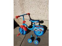 10 inch Thomas the Tank Engine 2 in 1 Training Bike and Stabilisers