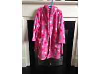 Girls blue zoo dressing gown 5-6 years