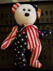 TY American Bear 23cm tall