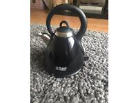 Black Russell Hobbs kettle