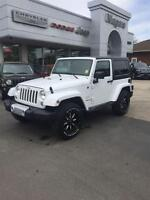 2015 Jeep Wrangler SAHARA, ALLOYS, NAV, ONLY 502KM!!