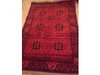 genuine hand woven indian rug never been used
