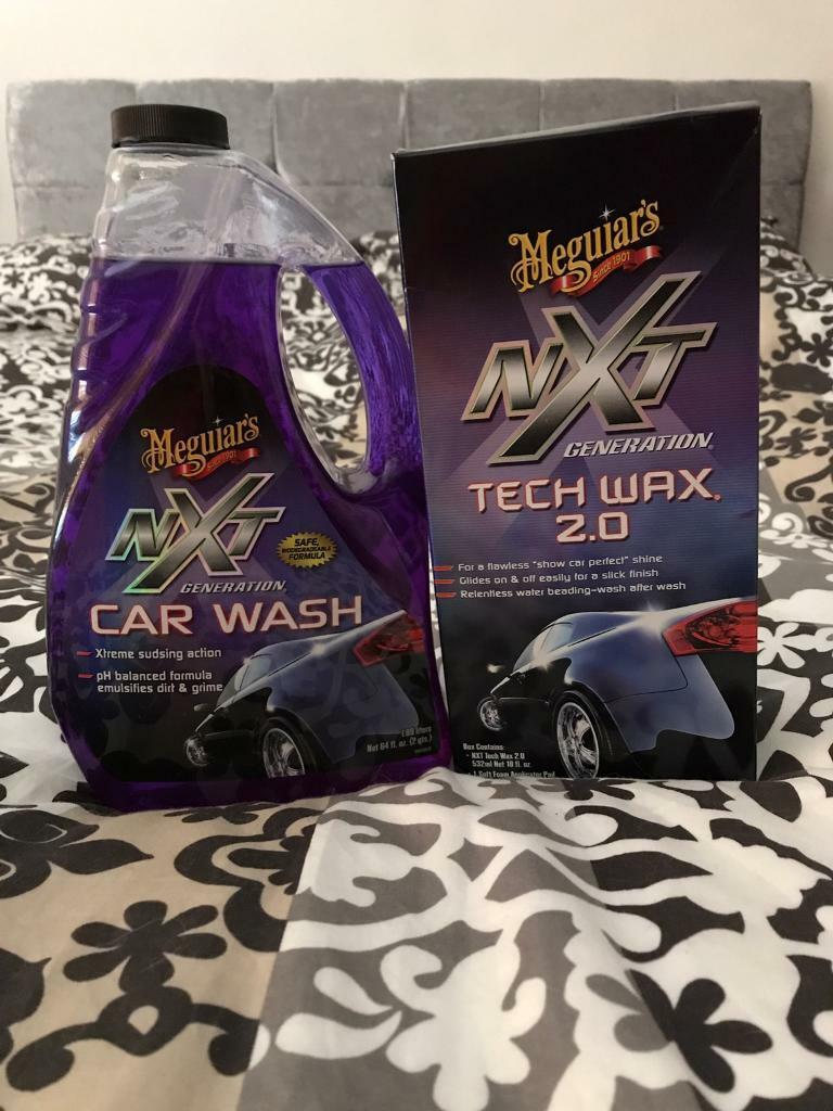 Meguiars Nxt Generation Car Cleaning Products X In Musselburgh - Show car cleaning products